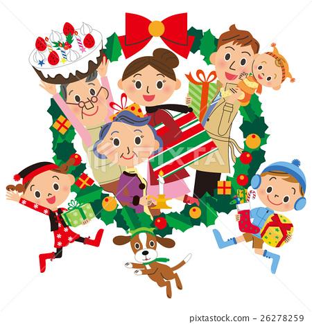크리스마스 리스, 크리스마스, 성탄절 26278259