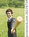 商務人士 擊球手 棒球 26278739