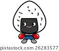 주먹밥의 일러스트 (의인화 · 데포) 26283577
