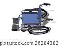 wheelchair, computer graphics, computer graphic 26284382