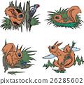 Cartoon squirrels 26285602