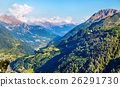 View of Airolo village from the Gotthard Pass 26291730
