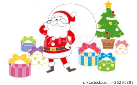 산타 선물 26291885