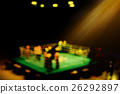 vintage blur boxing ring with spot light. 26292897