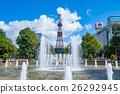 札幌·大通公園和電視塔 26292945