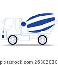 Concrete mixer truck 26302030