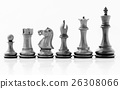 Chess concept save the king and save the strategy. 26308066