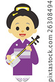 江戶時代 藝妓 女性 26308494