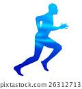 跑步 奔跑 奔跑者 26312713