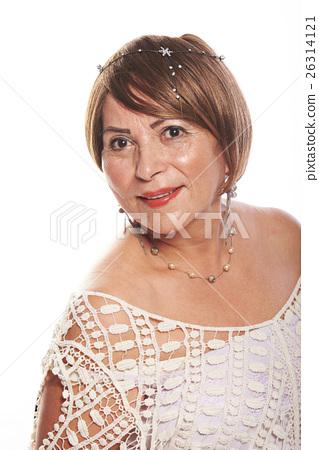 portrait of rich woman 26314121
