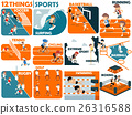 graphic design of popular sports 26316588