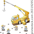 Crane car 26319205