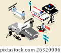 concept design of emergency situation scene 26320096