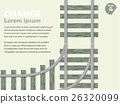 infographic choice concept, shunt railway 26320099