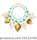 necklace of golden leaves 26322446