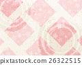 日本纸佐仓新年的卡片背景 26322515