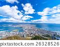 城市景觀 函館 城市風光 26328526