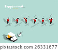 design of the step of golf swing with copy space 26331677