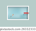 man floating in swimming pool with spring board 26332333