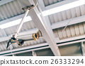 Surveillance security CCTV camera on the roof 26333294