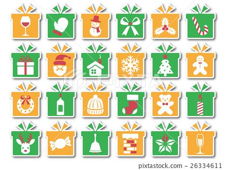 크리스마스, 성탄절, 아이콘 26334611