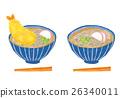 蕎麥麵 麵條 日本料理 26340011