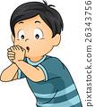 Kid Boy Hand Flute 26343756