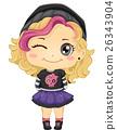 Kid Girl Punk Fashion 26343904