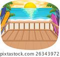 Beach Terrace Sun View 26343972