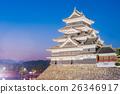 Matsumoto castle (Matsumoto-jo) historic landmark 26346917