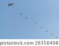 戰鬥機 日本航空自衛隊 降落傘 26356408