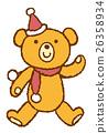 圣诞老人熊 26358934