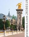 Pont Alexandre III bridge and Grand Palais. Paris 26360319