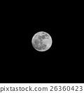 Closeup of full moon 26360423