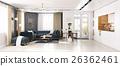 ห้อง,อยู่อาศัย,ทันสมัย 26362461