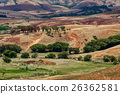 Traditional Madagascar hill landscape 26362581