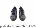 Black sneakers. Canvas Shoe. 26364129