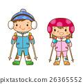 滑雪 孩子 小孩 26365552