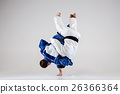 The two judokas fighters fighting men 26366364