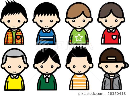 Boys 8 patterns 26370418