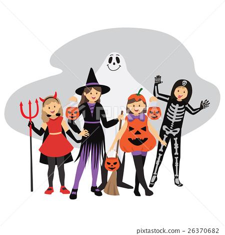 Kids' Trick or Treat Halloween Costumes 26370682