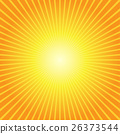 Sunburst Yellow Orange Background 26373544