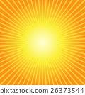 Sunburst Yellow Orange Background 26373544