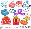 冬天 冬 衣物 26387445