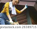 DIY女孩爬梯子 26389715