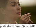 女性 茶 日式服裝 26390681
