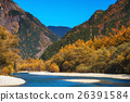 The fall season of kamikochi in Hotaka range 26391584