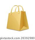 Cardboard paper bag 26392980