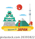 Welcome to Japan label 26393822
