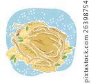 roast, chicken, meat 26398754